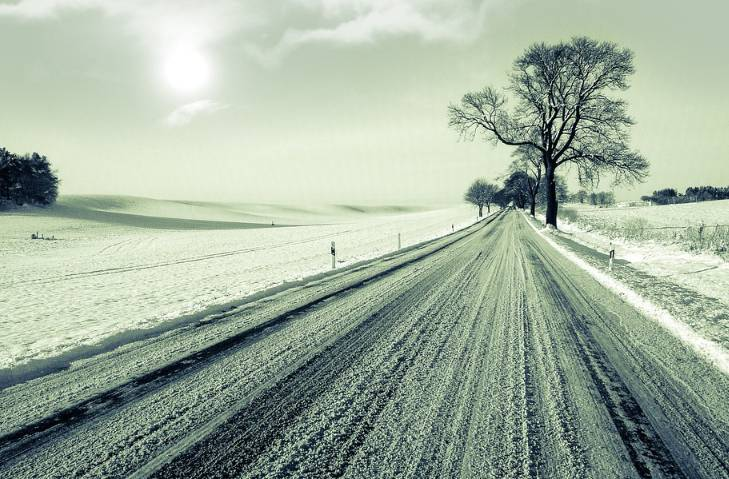 Solanka na drodze