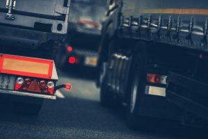 samochód ciężarowy z tachografem